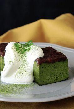 MATCHA GREEN TEA, WHITE CHOCOLATE & ADZUKI BEAN TERRINE [tastemade] [asia pacific dessert]: