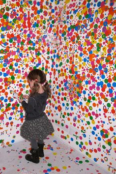 The Obliteration Room at The Tate Modern on http://www.bellissimakids.com