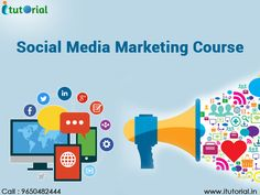 #SocialMediaMarketingCourse will be of interest to people who wish to learn more about social media marketing or to advance their career prospects in the social media marketing arena while obtaining social media certification. See more @ http://itutorial.in/online-social-media-marketing-course-noida.html #ITutorial #SocialMediaMarketing