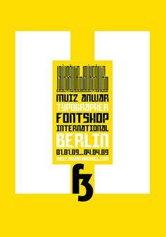 Typography by Muiz Anwar