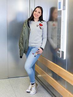 Patches peppen dezente Casual-Looks auf #Damenmode #Young Fashion #Freizeit #Patches