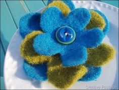Τσόχινα λουλούδια Βήμα-βήμα