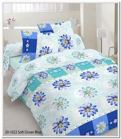Grasshopper Obliečka Bavlna Nicol modrá 140x200