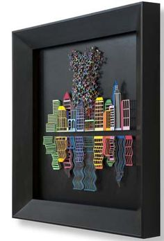 David KRACOV, Reflections, 63 x 63 cm, sérigraphie 3D
