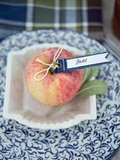 Set the table in style with one of our easy, unique ways to show guests to their seats this Thanksgiving — including free, downloadable designs and place cards that double as party favors.