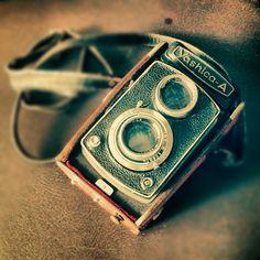 Yashica-A Old Manual Camera