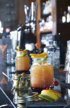 Cocktails with Kilner