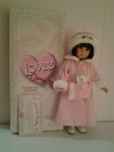 LINDA RICK - 18 INCH KEY TO MY HEART DOLL LE- Ann Estelle #DollswithClothingAccessories