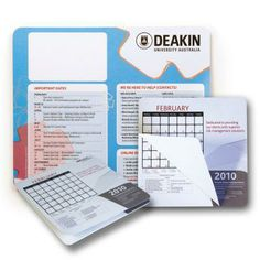Calendar Mouse Mat -  A twelve leaf tear-away calendar mouse mat. Generate your own custom calendar to any colour or design. Ideal for having important dates right at your fingertips. This product has no laminate and is therefore easy to write on. (Calendars are not supplied) Product Ref: PS0008829 From $7.57 To $10.46 Each