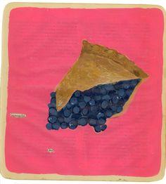Art - Food - Pie - by Martha Rich
