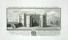 The North East View of Picton Castle Wales by Samuel and Nathaniel Buck.jpg