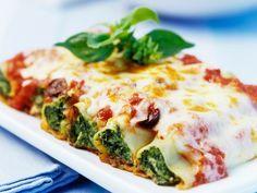 Cannelloni met spinazie - Libelle Lekker!