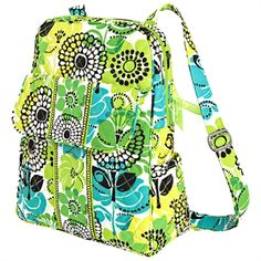Vera Bradley Backpack #VonMaur this is definatly my favourite vera bradley pattern
