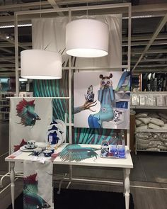 I really like this versatile display frame concept. Seen here (at IKEA), it is a department divider, but it would be so flexible in a store window, too. Stay display inspired! #visualmerchandising #storewindow #vm #displayideas #retaildisplay #ikeatampa