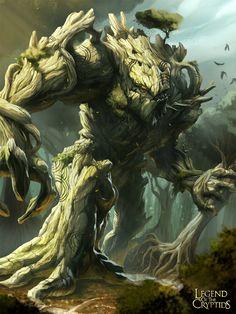 Legend of the Cryptids - Woodland Behemoth 1.0 by MarcWasHere.deviantart.com on @deviantART