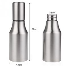 1X500/700/1000 ML Stainless Steel Olive Mister Oil Spray Bottle Oil Sprayer  Pot