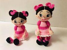 Vecindad del Chavo 8 - YouTube Amigurumi Doll, Funny Kids, Minnie Mouse, Teddy Bear, Dolls, Disney Characters, Videos, Youtube, Key Hangers