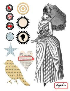 collage elements by ms.bailey, via Flickr