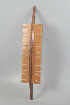 Handmade surf inspired watch display rack in solid by BoisdeVivre