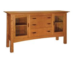 Alexander Sideboard in Cherry with Rosewood Yoshinaga Pulls. $3865. 20d x 64w x 36h. http://www.thejoinery.com/sites/default/files/products/714_4_Alexander_Display.jpg