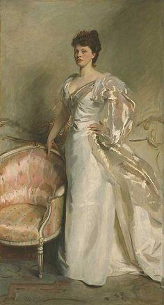 Mrs George Swinston  by John Singer Sargent
