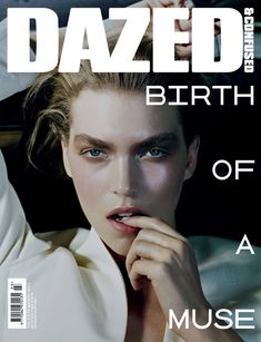 The second Dazed & Confused cover featuring the muse of the moment, Arizona Muse photographed by Sharif Hamza.
