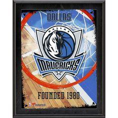 "Dallas Mavericks Fanatics Authentic 10.5"" x 13"" Sublimated Team Logo Plaque - $29.99"