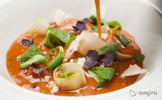 Холодные супы: весенние рецепты от шефа   m.wmj.ru