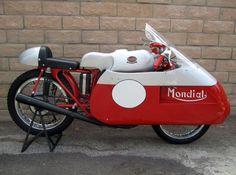 1954-1960 Ducati Mondial Race Bike