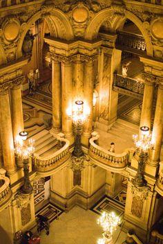 See another opera-this time in a glorious opera house (Opéra Garnier, Paris IX) Architecture Cool, Paris Opera House, Le Palais, Paris Photos, Tour Eiffel, Beautiful Places To Visit, Paris Travel, Beautiful Buildings, Places To Go