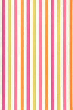 La Di Da by Harlequin - Pink / Green / Orange / Purple - Wallpaper : Wallpaper Direct Harlequin Wallpaper, Diamond Wallpaper, Orange Wallpaper, Paper Wallpaper, Striped Wallpaper, Kids Wallpaper, Room Wallpaper, Wallpaper Backgrounds, Flower Power