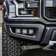 LED Bracket for the New 2017 Raptor direct bolt on with multi-mount for ease of mounting lights. Ford Raptor Accessories, Truck Accessories, Ford Pickup Trucks, Jeep Truck, Lifted Trucks, Chevy Trucks, Custom Ford Raptor, 2017 Raptor, Carros Audi