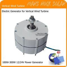 Permanent Magnet Generator AC Alternator for Vertical Wind Turbine Generator 100-300W