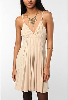 pleated dress from Urban Outfitters
