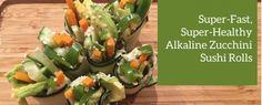 Live Energized Alkaline Recipe #183: Instant Raw Alkaline Sushi Roll Ups - Live Energized