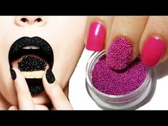 Caviar Manicure nails are so cute! I've got to do this!