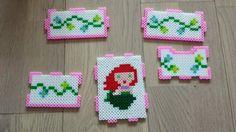 Ariel Disney Princess drawer hama beads by John Wong - https://www.pinterest.com/pin/374291419008734986/