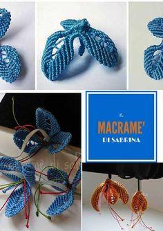 Macrame': Tutorial per realizzare un fiore a tre petali - Hobbydonna.it
