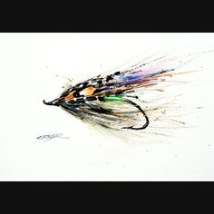 FLY FISHING Watercolor Print By Dean Crouser by DeanCrouserArt, $25.00