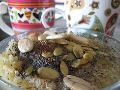 Mis Recetas Anticáncer: Desayuno II. Crema de Quinoa dulce