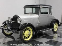 Vintage Car Models 1929 Ford Model A Coupe - Antique Cars, Vintage Stuff, Vintage Items, Mercury Cars, Ford Lincoln Mercury, Classic Mercedes, Old Classic Cars, Old Fords, Classic Cars