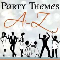 Adult Party Themes and Ideas by a Professional Party Planner... Not that I will be throwing any adult parties anytime soon.