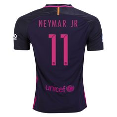 "Small (S): 38""-40"" Chest Medium (M): 41"" Chest Large (L): 43"" Chest Extra Large (XL): 45"" Chest . 2016-17 FC Barcelona Neymar JR #11 Away Replica Soccer Jersey (New) I Recommend Purchasing A Size Larger Than You Would Normally Buy. Payment ..."