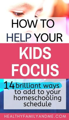 Do you know How to help a distracted child focus? It's easy using these 14 simple strategies for intentional parents. Grab your free focus cheatsheet now! Parenting Done Right, Parenting Teens, Parenting Advice, Mom Advice, Learning Styles, Kids Learning, Learning Activities, Parallel Parenting, Kids Homework