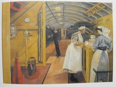 Evelyn Dunbar - Hospital Train