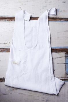 Avental Tokyo Branco (100% linho)