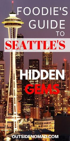 Space Guide Make your next trip to Seattle more memorable with these Fun and Funky Seattle restaurants. Travel to this great city and enjoy the best food. A locals guide to the best eating spots in Seattle. A foodie's guide to great food in Seattle. Seattle Travel Guide, Seattle Vacation, Seattle Food, Seattle Restaurants, Sushi In Seattle, Downtown Seattle, Seattle Skyline, Oh The Places You'll Go, Places To Eat