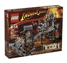 Amazon.com: LEGO Indiana Jones The Temple of Doom (7199): Toys & Games