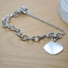a90c740be BeadifulBABY :: My First Charm Bracelet® for Girls with Safety Chain –  Cable Chain Charm Bracelet for Kids - Sterling Silver Rhodium - Size (Kids 5  - 8 ...