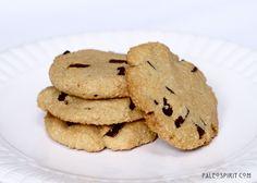 Paleo Chocolate Chip Cookies by @PaleoSpirit Grain-free, Gluten-free & Vegan